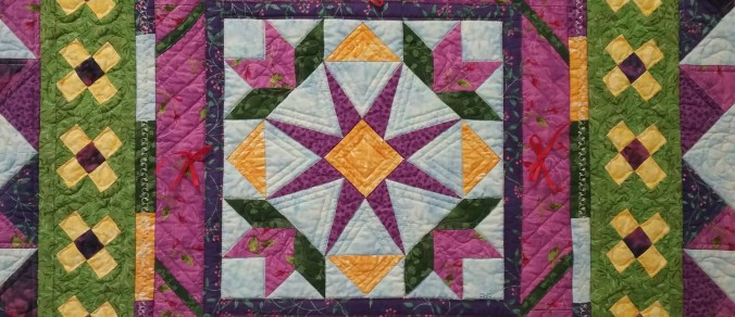 Garden of Quilts exhibit
